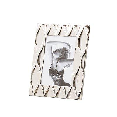 Porta retrato prateado Diamond 13x18cm