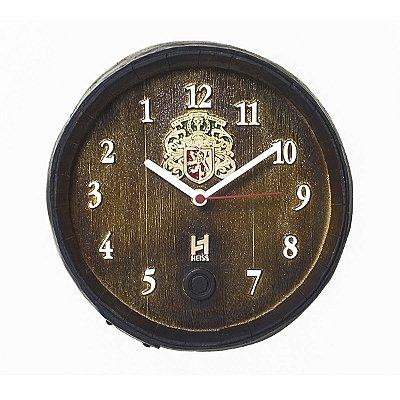 Relógio Barril Anti Horário P