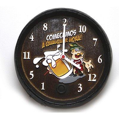 Relógio Barril Qualquer Hora