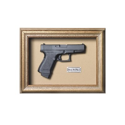Quadro Réplica Pistola Glock