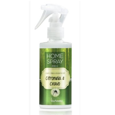 Home Spray Óleo de Citronela c/ Cravo 200ML