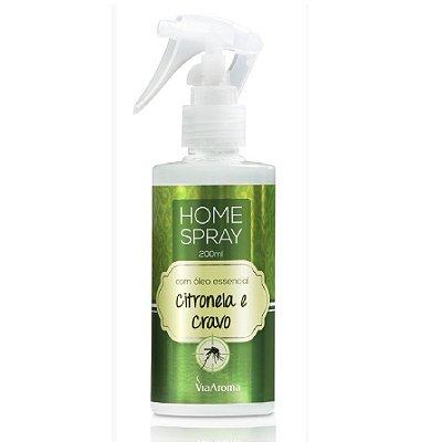 Home Spray Óleo de Citronela c/ Cravo 200ML