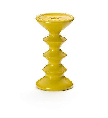 Castiçal Amarelo 21,5cm