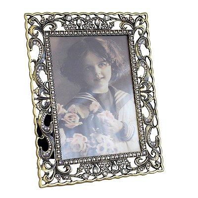 Porta Retrato Pedraria Louise I 13x18