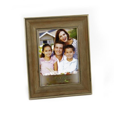 Porta retrato valeta dourada 20x25cm