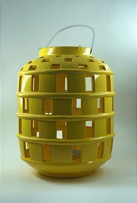 Lanterna Amarela 28cm