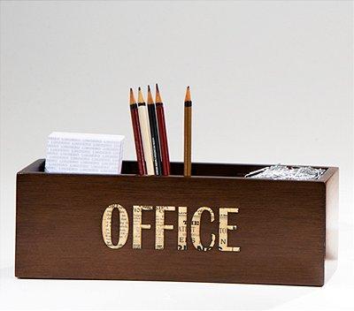 Kit escritório Paper - Madeira