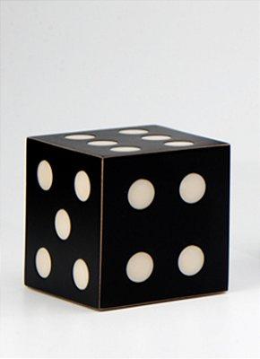 Caixa p/ baralho Decora - Preto