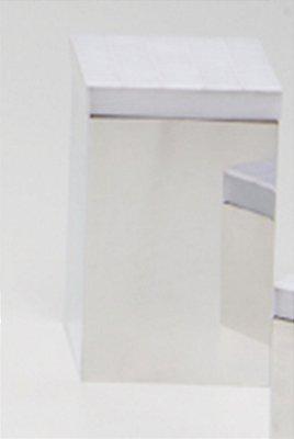 Caixa p/ cotonete Giuli - Branco