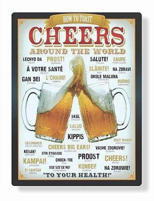 Placa Cheers P