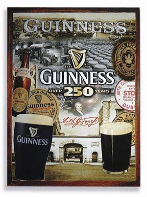 Placa Guinness 250