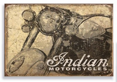 Placa Indian Motorcycles