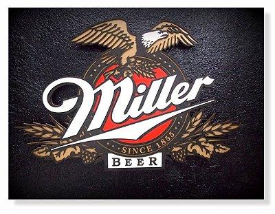 Placa Miller Logo