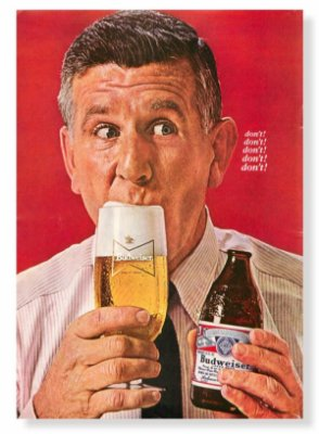 Placa Budweiser Dont