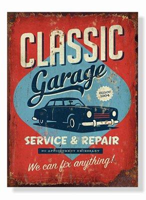 Placa Classic Garage