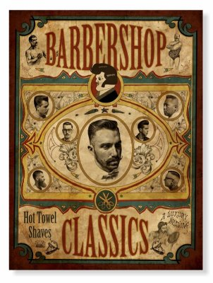 Placa Barber Classic