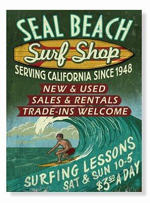 Placa Surf Shop
