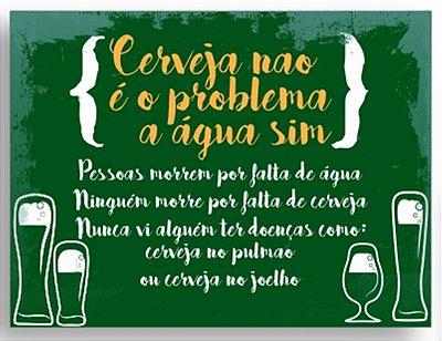 Placa Cerveja