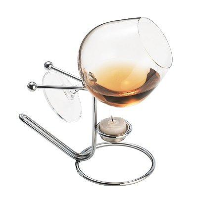 Aquecedor p/ cognac Balls 14cm