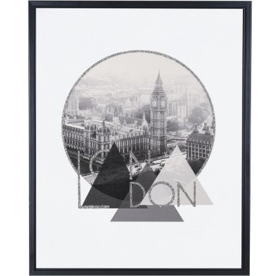 Quadro London Cinza