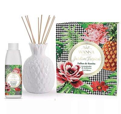 Kit Aromatizador de Ambiente Folhas de Bambu