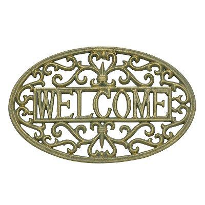 Placa de Parede Welcome