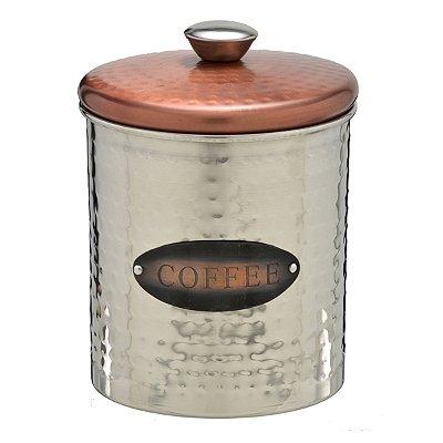 Pote Aço Inox Coffee