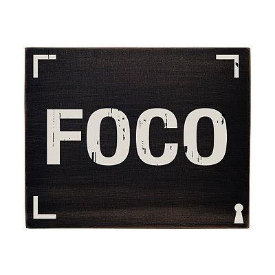 Quadro Box Foco 8x10cm