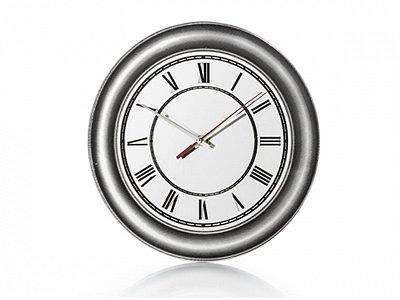 Relógio Parede Vidro Espelhado 30cm