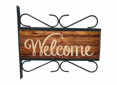 Placa Aramada Welcome