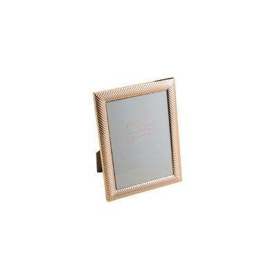 Porta Retrato Thick Line Rose Gold 20x25cm