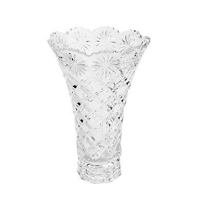 Vaso de Cristal Diamond 25Cm