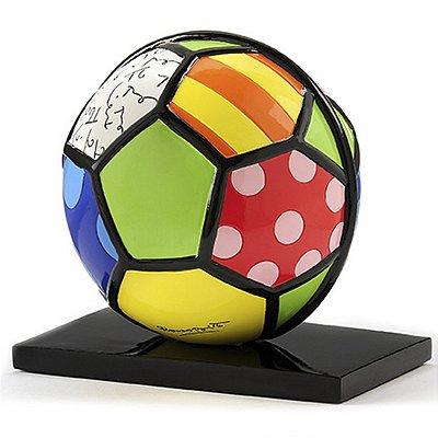 Escultura Bola Colorida Romero Britto
