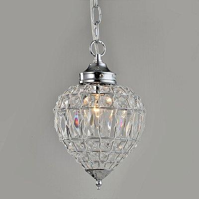Pendente Cristal Transparente 28cm