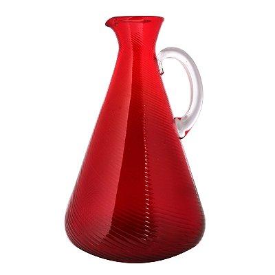 Jarra decorativa Vermelha 34cm