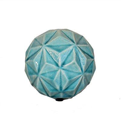Bola de Cerâmica Turquesa