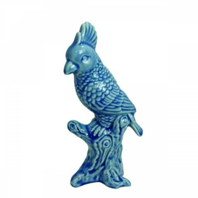 Pássaro decorativo Azul