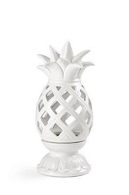 Abacaxi Branco Vazado