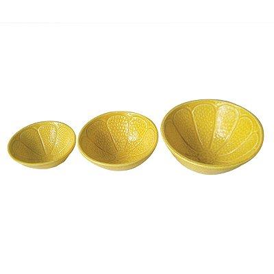Conjunto 3 Bowls Lemon Amarelo