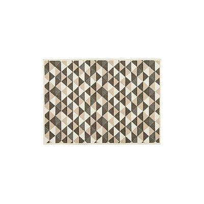 Tapete Tapis Diamant Chocolat 50x70cm