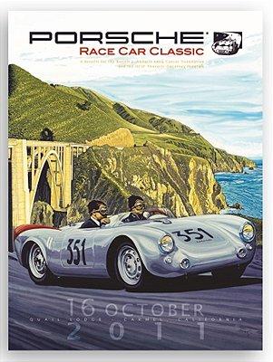 Placa Porsche