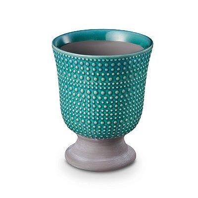 Cachepot Taça azul