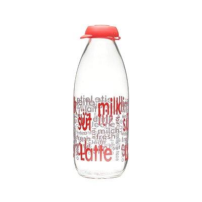 Garrafa p/ leite Leche 1L