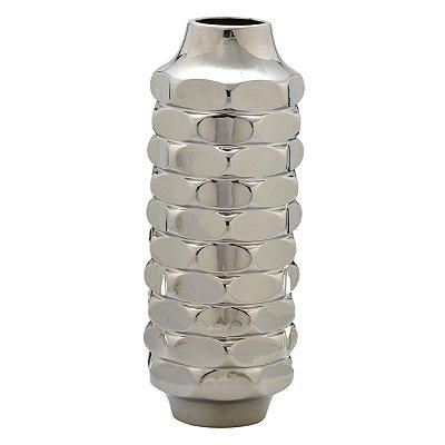 Vaso Prata Decorativo 45cm