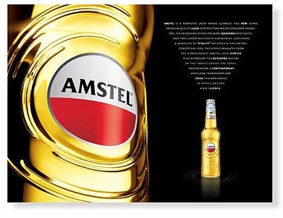 Placa Amstell Rotulo P