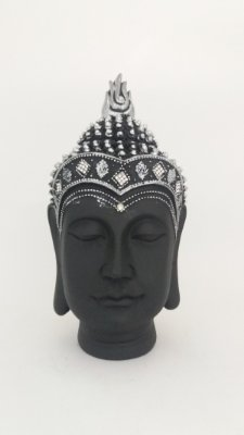 Cabeça Buda P Preto