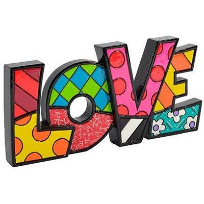 Palavra Love - Romero Britto
