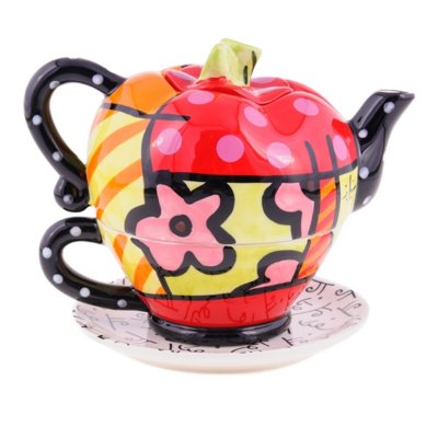 Tea For One Apple Teapot