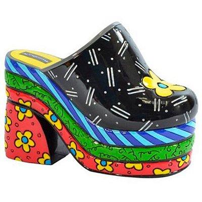Escultura Sapato Clog - Romero Britto