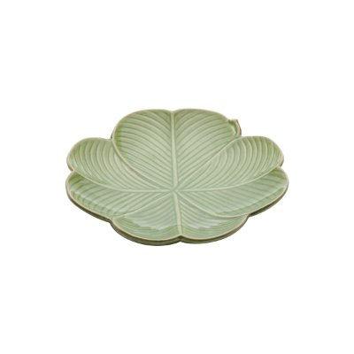 Folha Decorativa Banana Leaf Verde 26cm